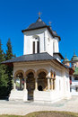 The old church at Sinaia Monastery, Romania Royalty Free Stock Photo