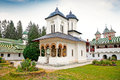 The old  Church at the Sinaia Monastery in Sinaia. Romania. Royalty Free Stock Image