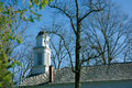 Old church steeple Allaire Village New Jersey