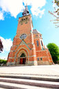 Old church in sweden caroli entired buildning Royalty Free Stock Photo