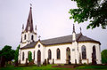 Old church in sweden kinna town Royalty Free Stock Photography