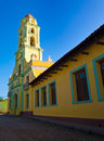 Old church in Trinidad, Cuba Stock Images
