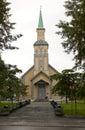 Old church in tromso Royalty Free Stock Photo