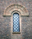 Old church window. Royalty Free Stock Photo