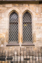 Old church windows Royalty Free Stock Photos