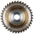 Old circular saw blade Royalty Free Stock Photo