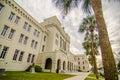 The old Citadel capus buildings in Charleston south carolina Royalty Free Stock Photo