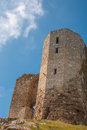 Old citadel ruin of an in romania Stock Image