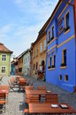 Old citadel of Sighisoara, Romania Royalty Free Stock Photography