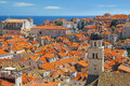 Old city of dubrovnik croatia Stock Photography