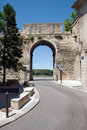 Old city entrance Avignon Royalty Free Stock Photo