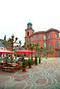 Old city frankfurt germany view of Royalty Free Stock Images