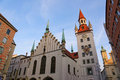 Old City Hall of Munich, Germany Stock Photo