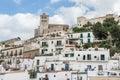 Old city of Ibiza - Eivissa. Spain, Balearic islands Royalty Free Stock Photo