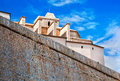 Old city of Ibiza, Spain Royalty Free Stock Photography