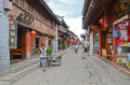 Old city of Lijiang , China Stock Images