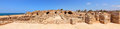 Old city on the mediterranean sea blue perfect panoramic view caesarea israel Stock Photography