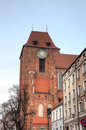 Old city of torun poland Stock Images