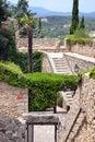 Old city walls of Girona, Catalonia, Spain Stock Photo