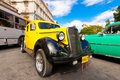 Old classic american car, an icon of Havana Royalty Free Stock Photo