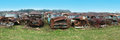Old Classic Car, Cars, Junkyard