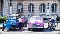 Old classic car in Havana, Cuba Royalty Free Stock Photo