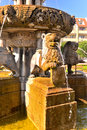 Old classic fountain Royalty Free Stock Photo