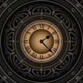 Old clock. Royalty Free Stock Photo