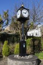 Old clock in Castletown Royalty Free Stock Photo