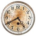 Old clock dial Royalty Free Stock Photo