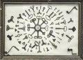 Old clock keys