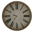 Old Clock With Roman Numerals Royalty Free Stock Photo
