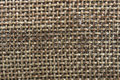 Old, coarse cloth texture from close range Royalty Free Stock Photo