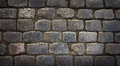 Old cobblestone background image of Royalty Free Stock Photos