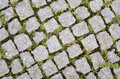 Old cobblestone pattern Stock Image