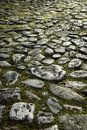 Old Cobblestone Pavement Stock Images