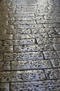 Old Cobblestone road Stock Photography