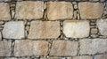 Old Cobblestone wall Royalty Free Stock Photo