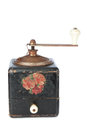 Old coffee grinder. Royalty Free Stock Images