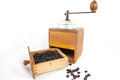Old coffee grinder Stock Photo