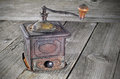 Old coffee grinder Royalty Free Stock Photo