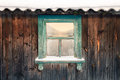 The old color window of the barn Royalty Free Stock Photo