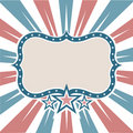 Old Colors American Frame Royalty Free Stock Photos