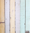 Old colour wooden wall Stock Images