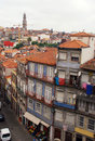 Old colourful buildings, Porto,Portugal Stock Photo