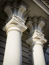 Old columns beautiful close up Royalty Free Stock Photos