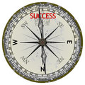 Old Compass. Course To Success Stock Photography