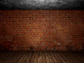 Old Concrete abandoned room  interior Royalty Free Stock Photo