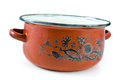 Old cooking pot Royalty Free Stock Image