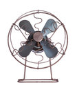Old cooling fan Stock Images